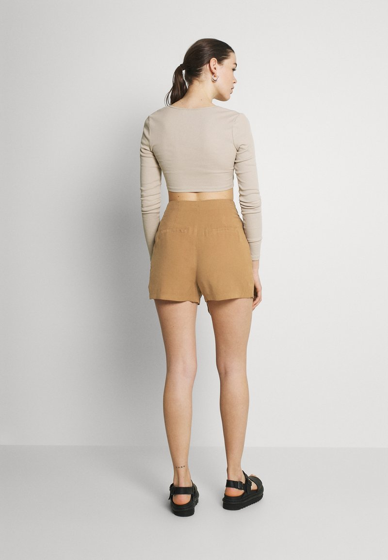 ONLY - ONLMAGO LIFE - Shorts - toasted coconut