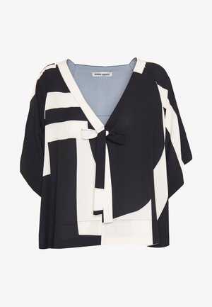 HANG ON SUMMER BLOUSE - Blouse - black