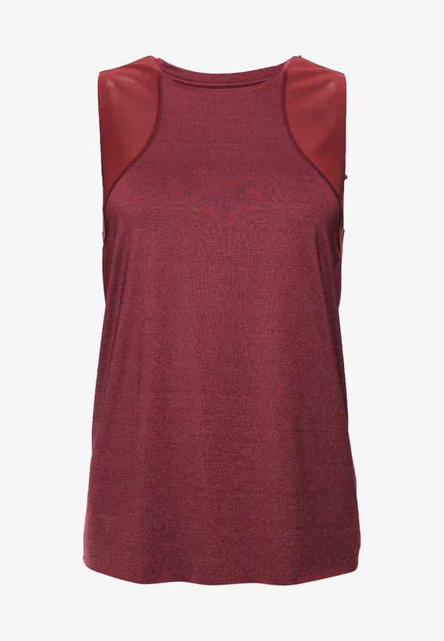 Sports shirt - claret