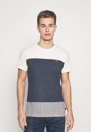 HAMMOND - T-shirt imprimé - navy