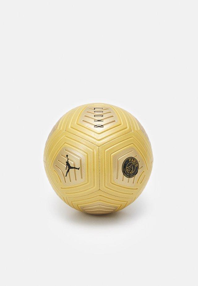 PSG JORDAN - Piłka do piłki nożnej - gold/black
