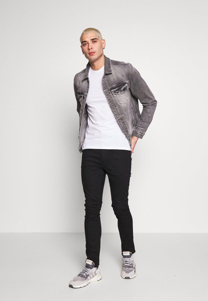 AllSaints - TONIC CREW 3 PACK - Basic T-shirt - optic/black/grey