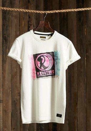 MOTOWN & SOUL - T-shirt print - cream