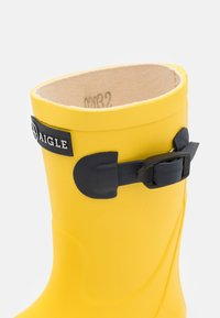 Aigle - WOODYPOP2 UNISEX - Holínky - jaune/indigo - 5