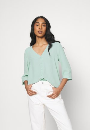 JDYCAPOTE SHIRT - Bluser - pastel turquoise