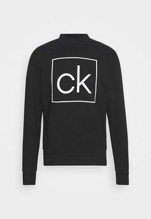 BOX MOCK NECK - Sweatshirt - black