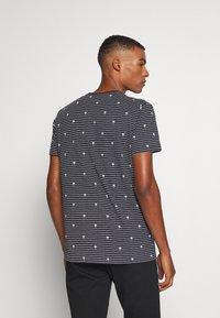 edc by Esprit - PALM - Print T-shirt - navy - 2
