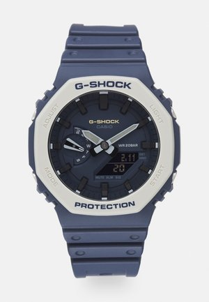 OUTDOOR GA-2110ET - Digital watch - earth-toned navy/blue/grey