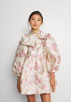 FONDNESS BOW MINI DRESS - Cocktail dress / Party dress - cream