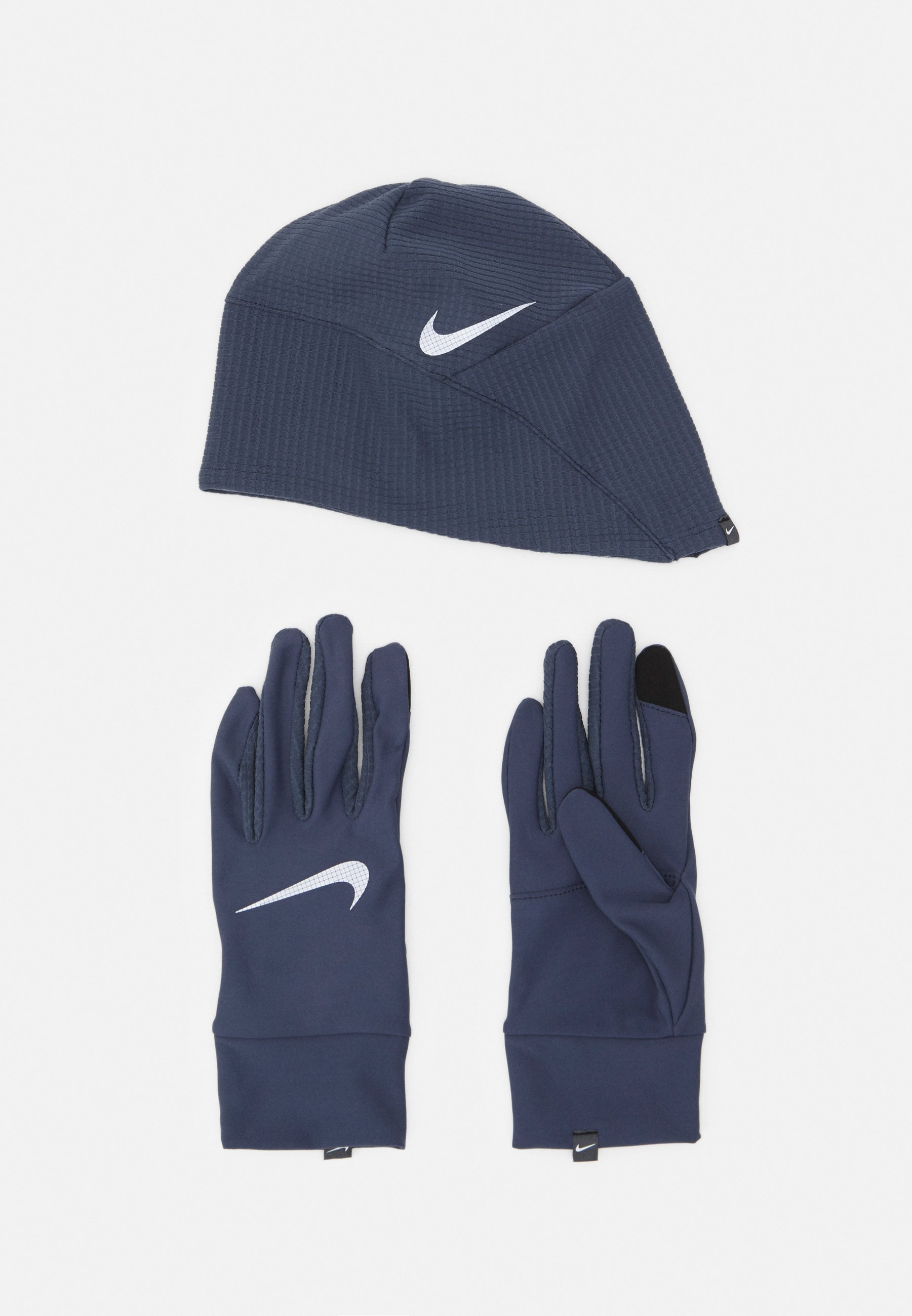 Men MEN'S RUN DRY HAT AND GLOVE SET - Gloves