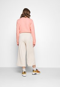 Monki - CILLA TROUSERS - Tracksuit bottoms - beige - 2