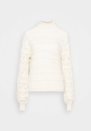 CRISALA TURTLENECK - Jumper - seedpearl