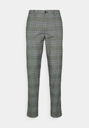 MOTT CLASSIC DYED - Trousers - grey