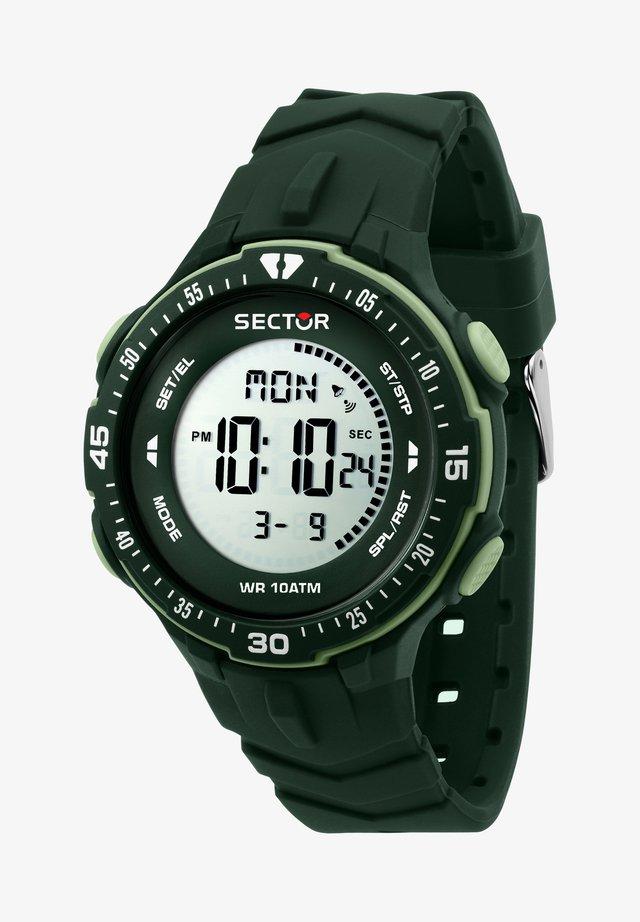 MILITARY  - Digital watch - green