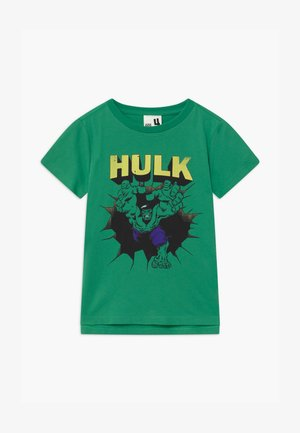 MARVEL HULK SHORT SLEEVE - T-shirts print - kelly green