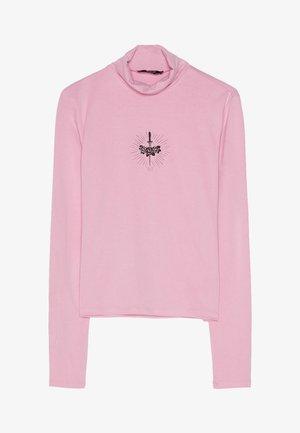 HEMD MIT STEHKRAGEN UND PRINT 02194168 - Pitkähihainen paita - pink