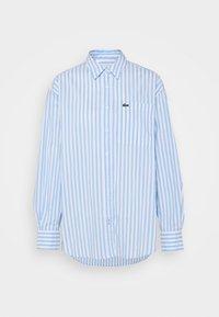 Lacoste - Button-down blouse - nattier blue/white - 3