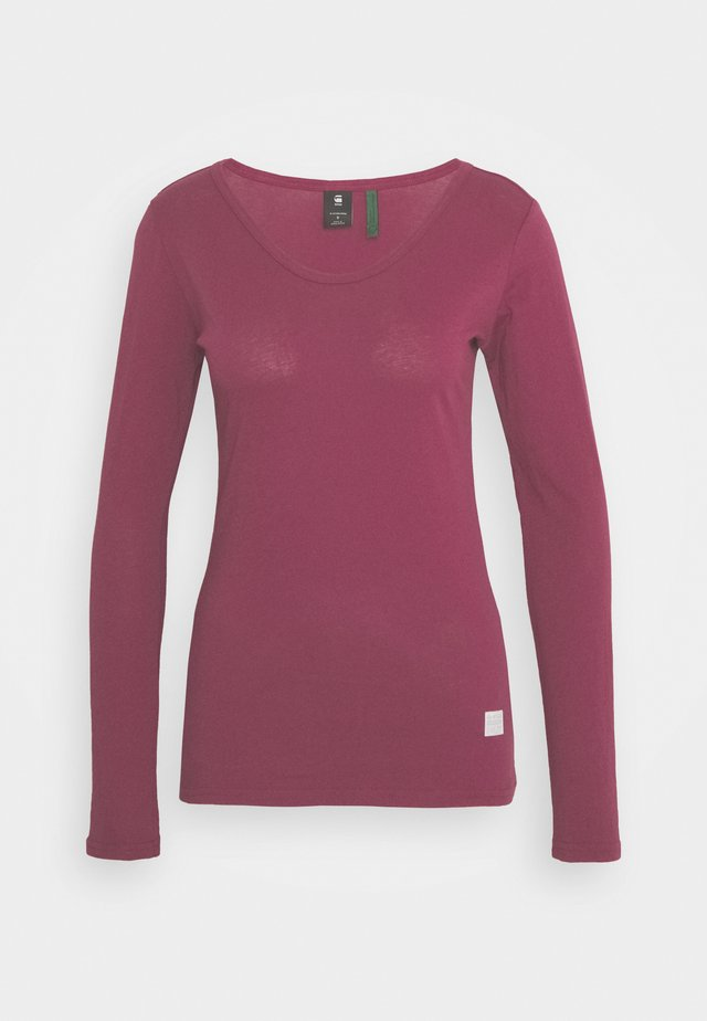 CORE EYBEN SLIM U T WMN L\S - Long sleeved top - finch