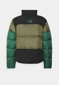 The North Face - STEEP TECH JACKET UNISEX - Down jacket - burnt olive green/evergreen/black - 1