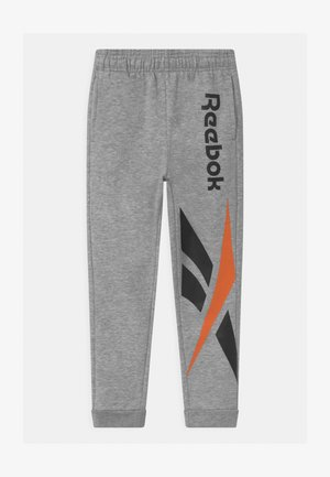 VECTOR PLACEMENT - Tracksuit bottoms - light heather grey