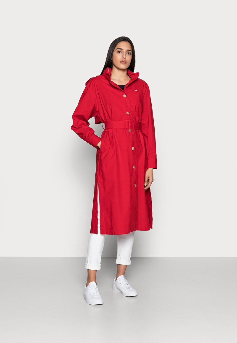 Tommy Hilfiger - ICON - Trenchcoat - red
