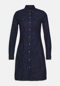 G-Star - TACOMA DRESS LONGSLEEVE - Denim dress - dark aged - 4
