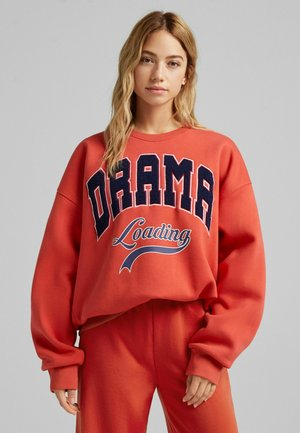 OVERSIZE - Sweater - red