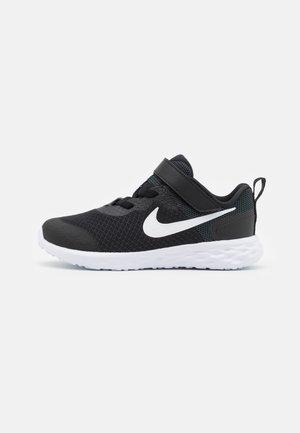REVOLUTION 6 TDV UNISEX - Neutral running shoes - black/white/dark smoke grey
