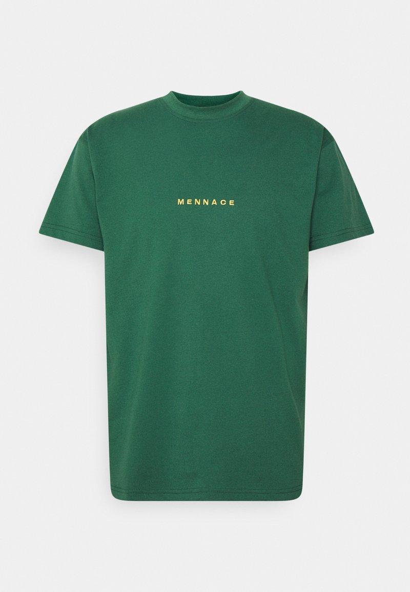 Mennace - ESSENTIAL REGULAR UNISEX  - T-shirt med print - green