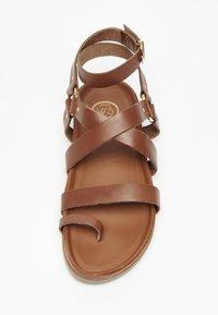White Sun - OHANZEE  - T-bar sandals - tan - 2