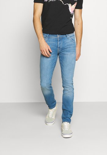 JJIGLENN JJFOX AGI  - Jeans Skinny Fit - blue denim