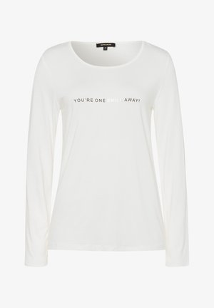 WORDING - Long sleeved top - offwhite