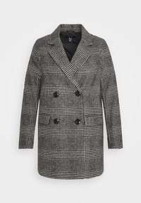 New Look - EMMA CHECK COAT - Short coat - grey - 4