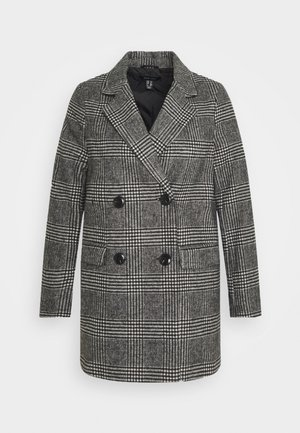 EMMA CHECK COAT - Korte frakker - grey