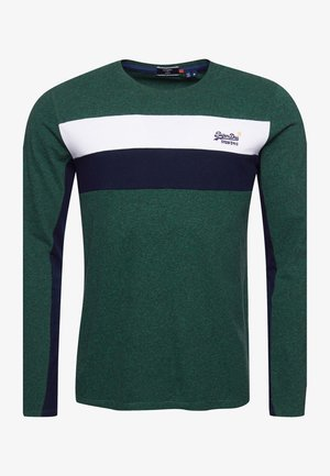 ORANGE LABEL ENGINEERED  - Long sleeved top - willow green grit