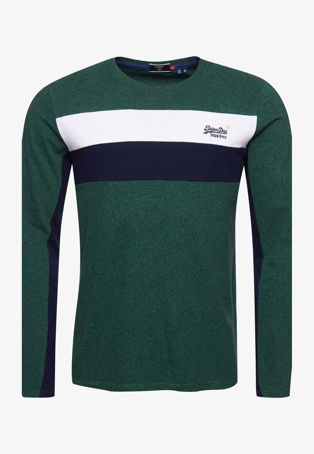 ORANGE LABEL - Longsleeve - willow green grit