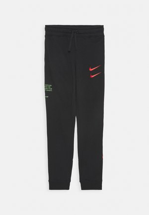 PANT - Tracksuit bottoms - black/ember glow