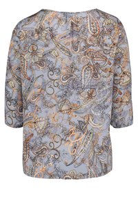 Betty Barclay - MIT MUSTER - Blouse - blue/orange - 4