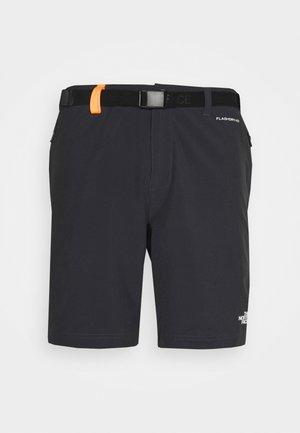 CIRCADIAN SHORT - Sportovní kraťasy - asphalt grey