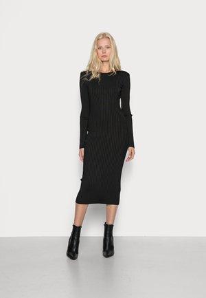 FLORINDA DRESS - Robe en jersey - jet black