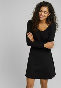edc by Esprit - PUNTI  - Day dress - black - 0