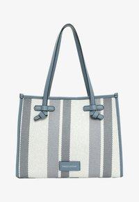 Emily & Noah - Handbag - blue stripes - 1