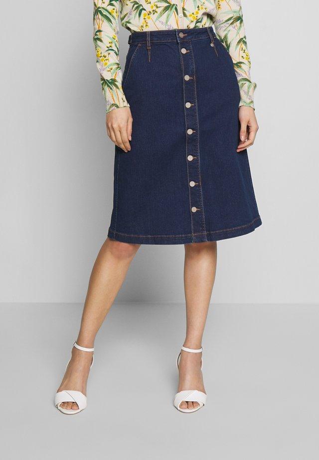 DRIHARRIET SKIRT - A-line skirt - mid neptune blue