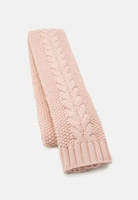 Barbour - CABLE BEANIE SCARF SET - Scarf - pink - 3