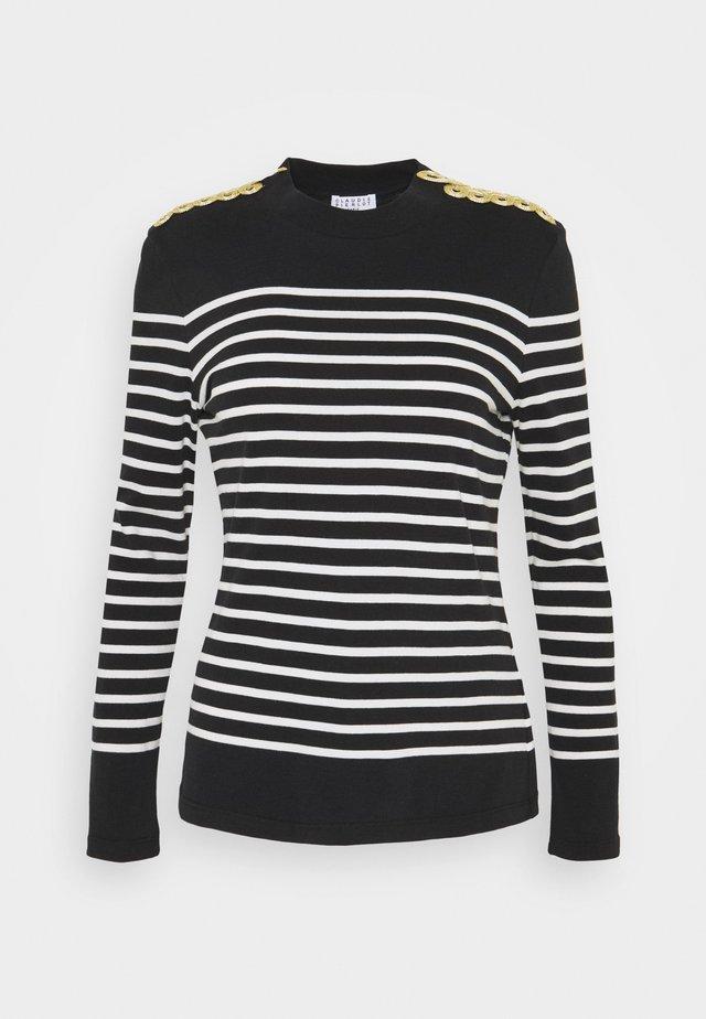 Långärmad tröja - noir