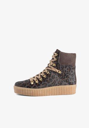 AGDA LEO  - Lace-up ankle boots - grau