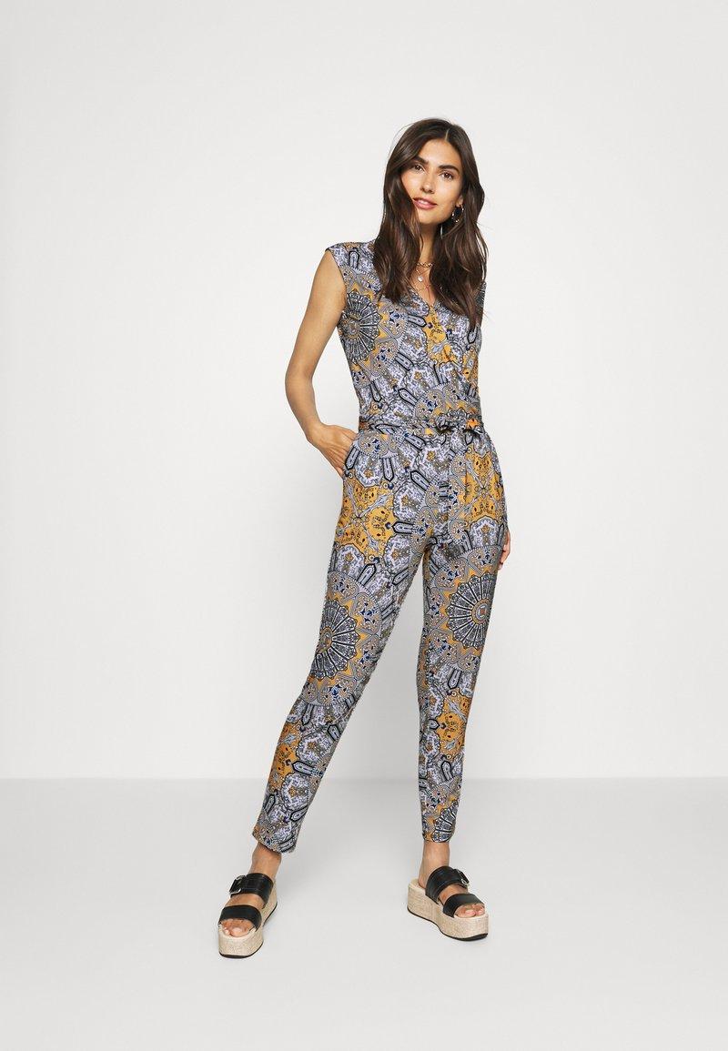comma - OVERALL - Jumpsuit - multi coloured