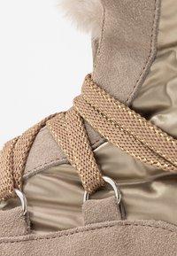 Tosca Blu - ADELE - Platform ankle boots - beige - 2