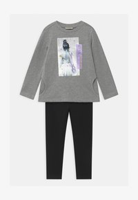OVS - TERRY SET - Sweater - silver - 0