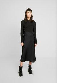AllSaints - KOWLO SHINE DRESS - Hverdagskjoler - black - 0